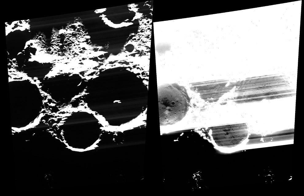 Полярные кратеры Толкина, Честертона и Труггвадоттир