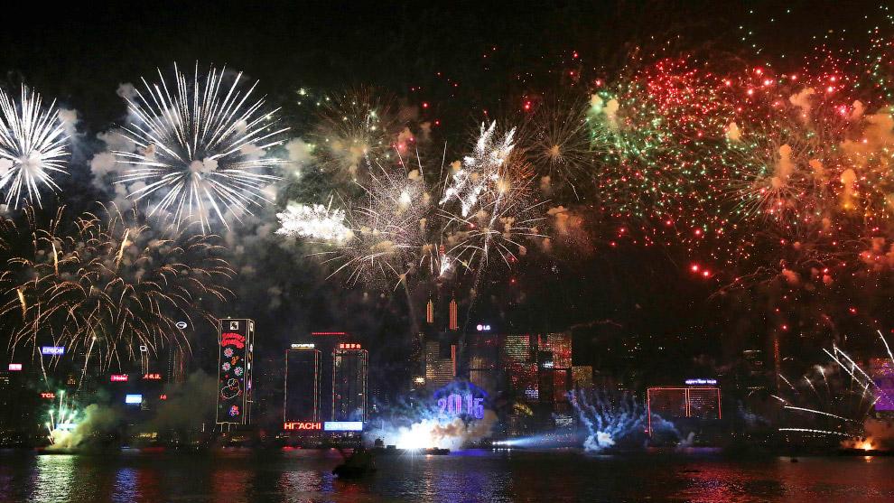 Встреча Нового года 2015 в Гонконге