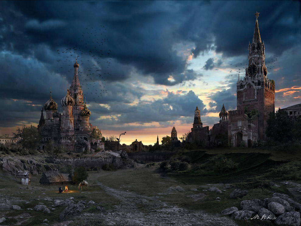 Кремлевская долина. Закат