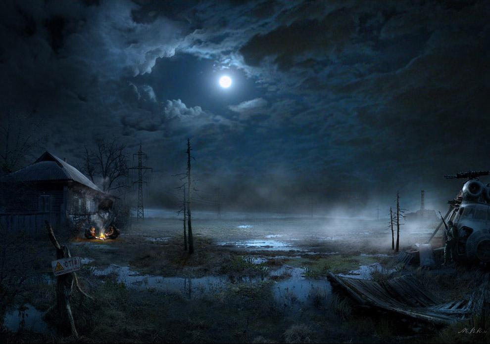 Дом на болоте