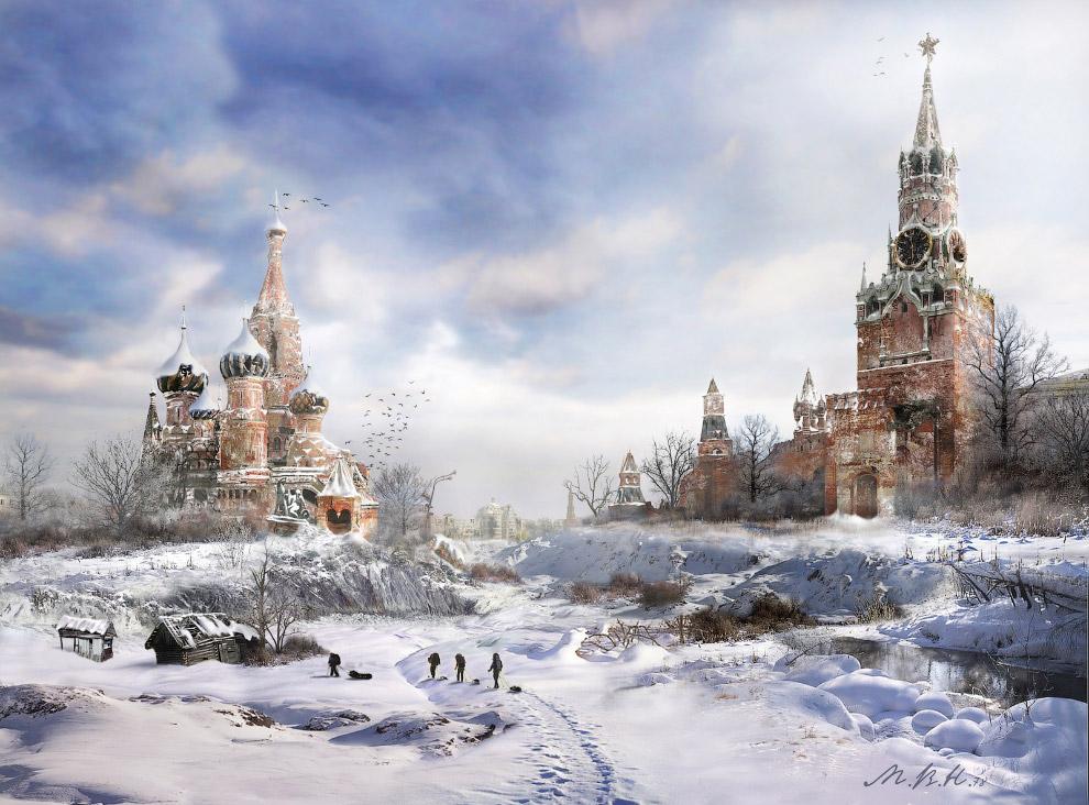 Кремлевская долина. Зима