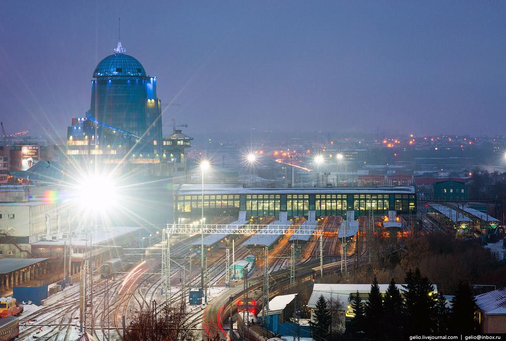 Железнодорожный вокзал Самары
