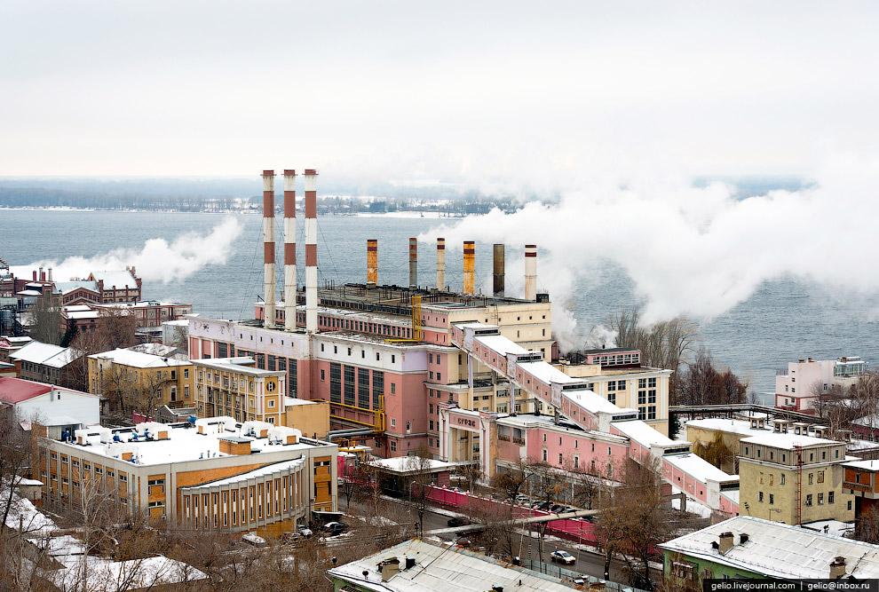 Самарская ГРЭС. Работает с 1900 года.