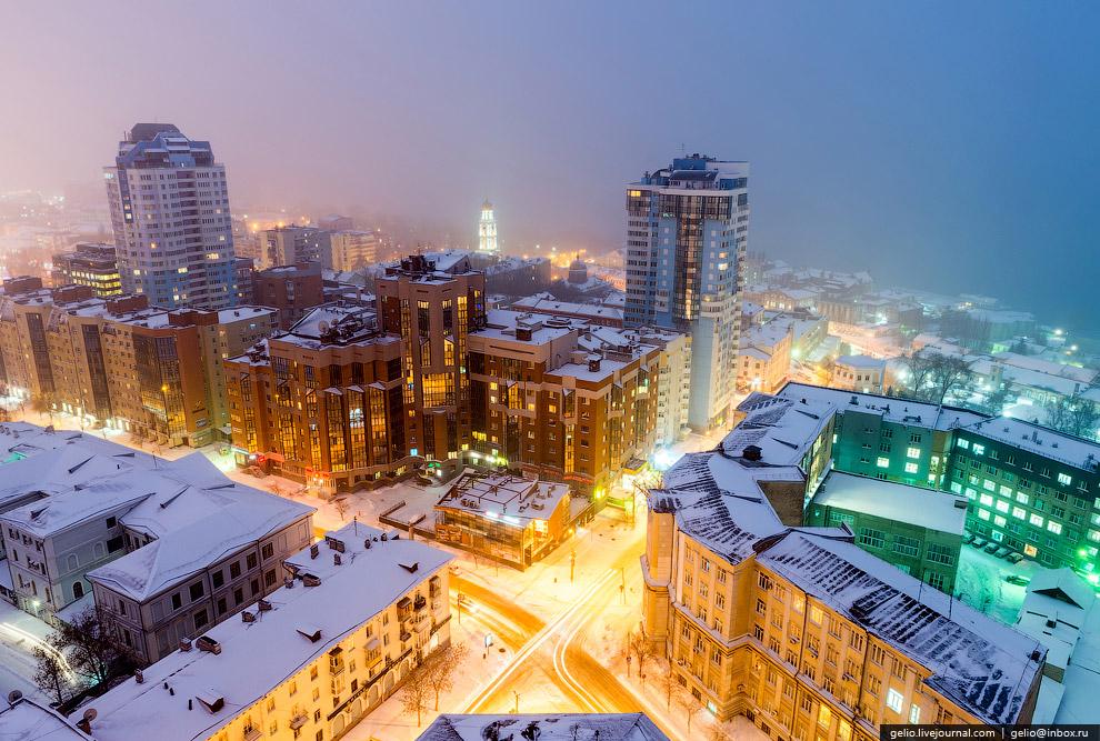 Пересечение Молодогвардейской и Ульяновской улиц.