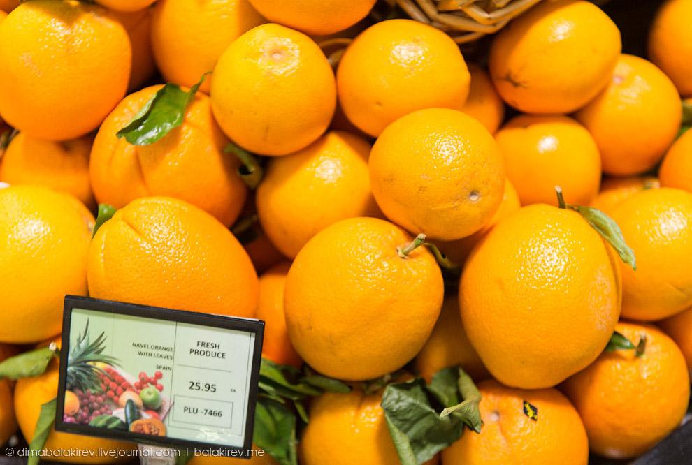 Испанские апельсины