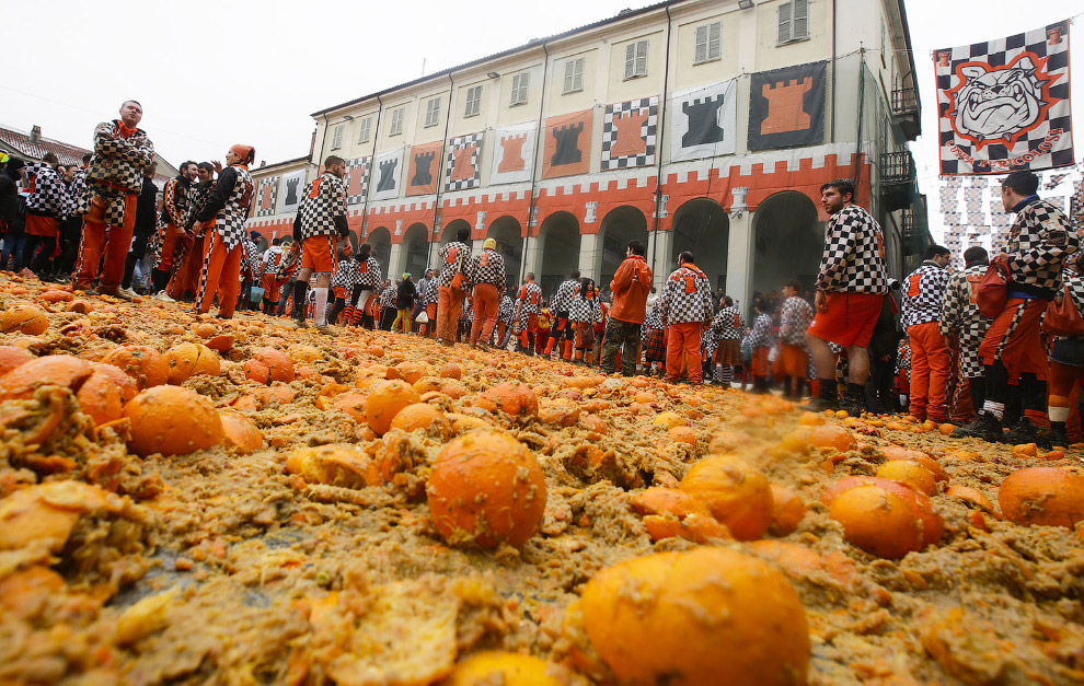 «апельсиновая» битва