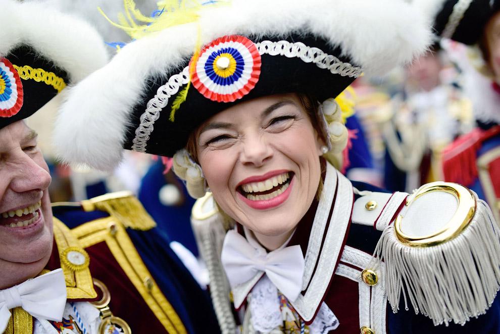 Карнавальное шествие в Майнце, Германия