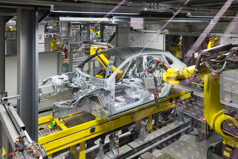 Завод порше в лейпциге