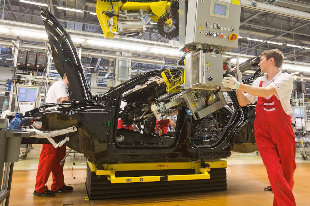 Завод Порше в Лейпциге: идеальное производство автомобилей