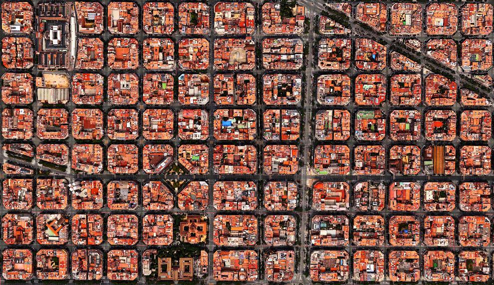 Жилые кварталы в Барселоне, Испания