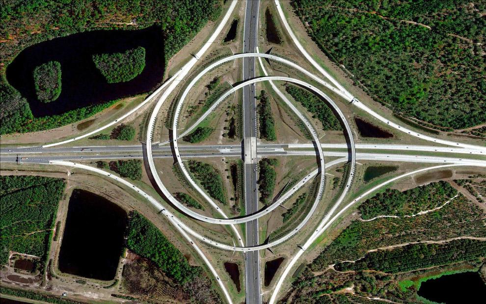 Дорожная развязка в Джексонвиле, Флорида