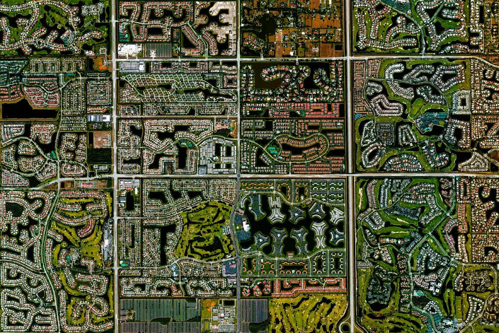 Популярный город-курорт Бока-Ратон, штат Флорида