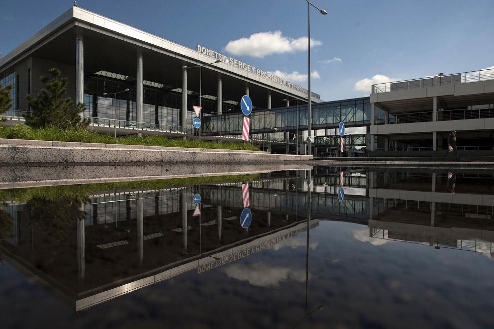 Так выглядел Донецкий аэропорт 6 мая 2014