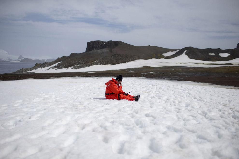Архипелаг Южные Шетландские острова в Антарктиде