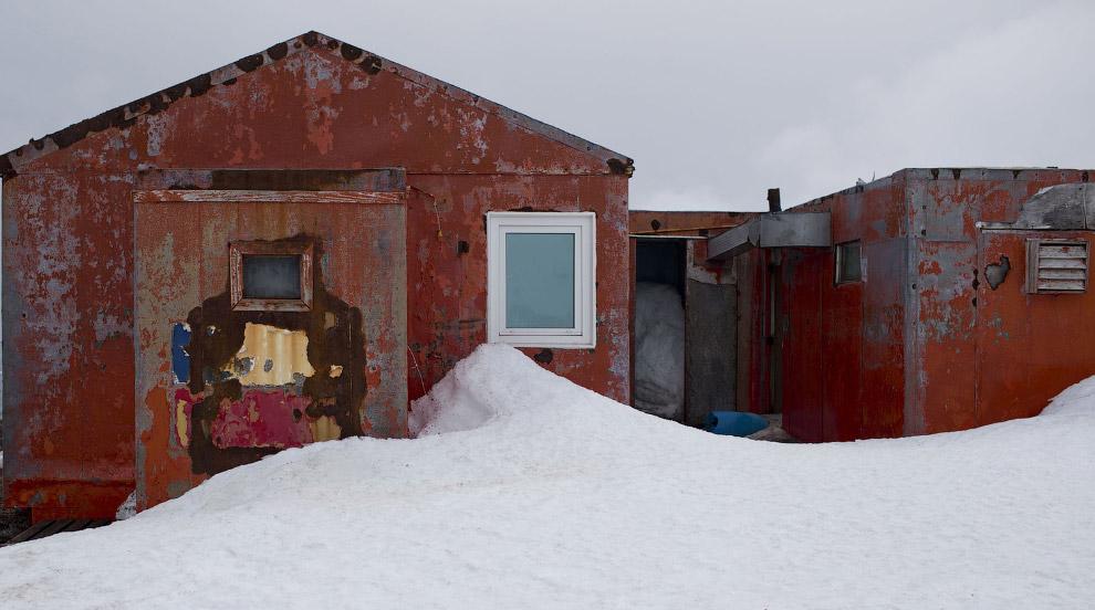 Дома ученых на архипелаге Южные Шетландские острова