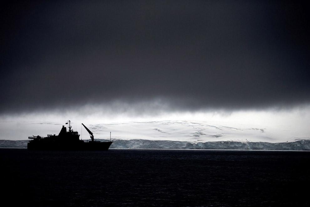 Чилийский корабль, Антарктида
