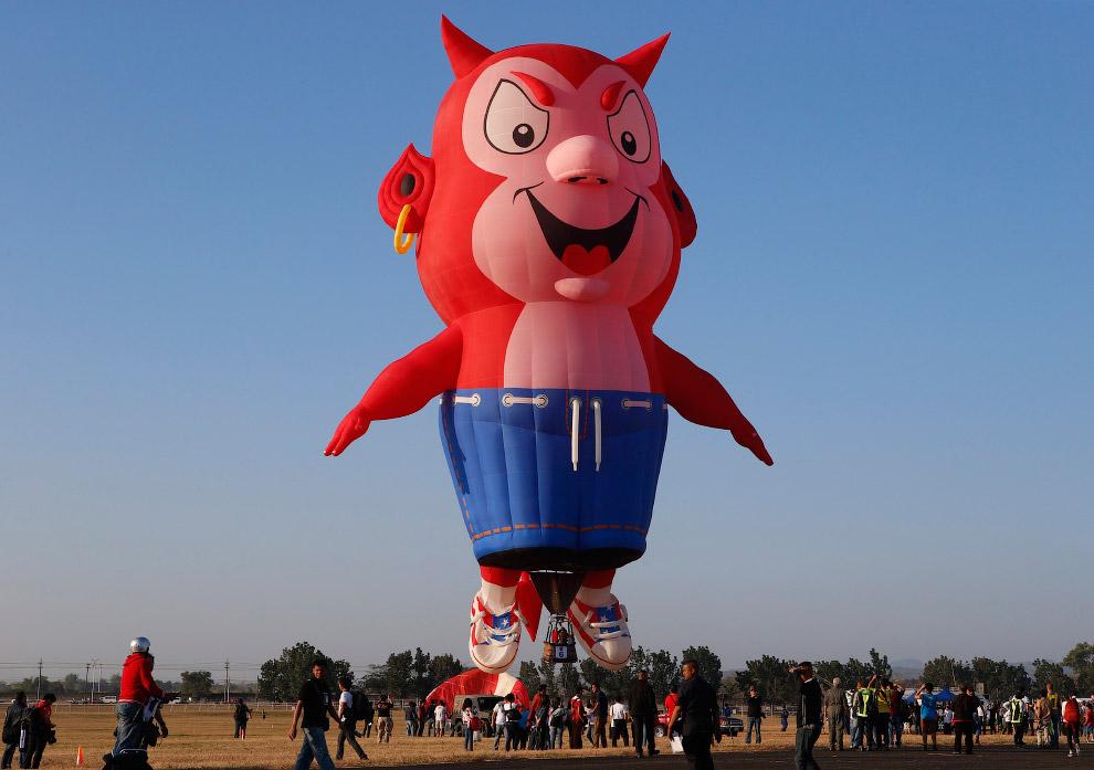 Международный фестиваль воздушных шаров на Филиппинах