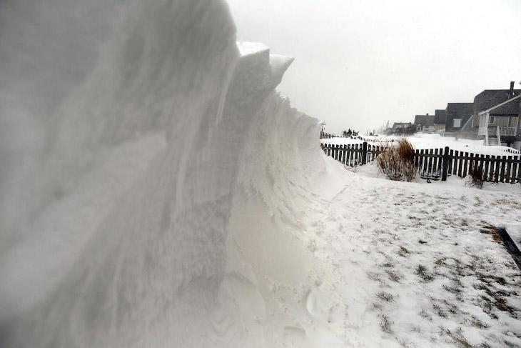 Снежная буря на северо-востоке США