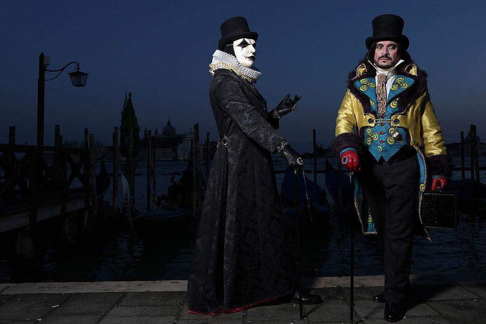 Карнавал в Венеции 2015
