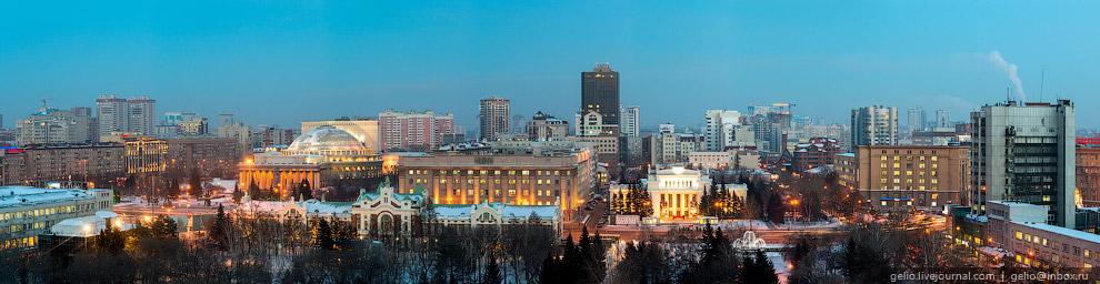 Панорама Первомайского сквера