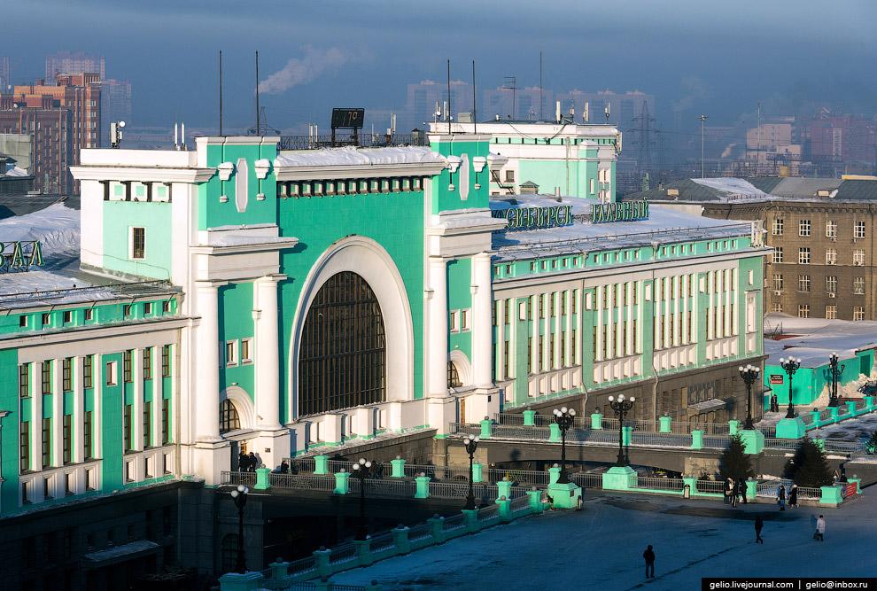 Железнодорожной вокзал «Новосибирск-Главный»