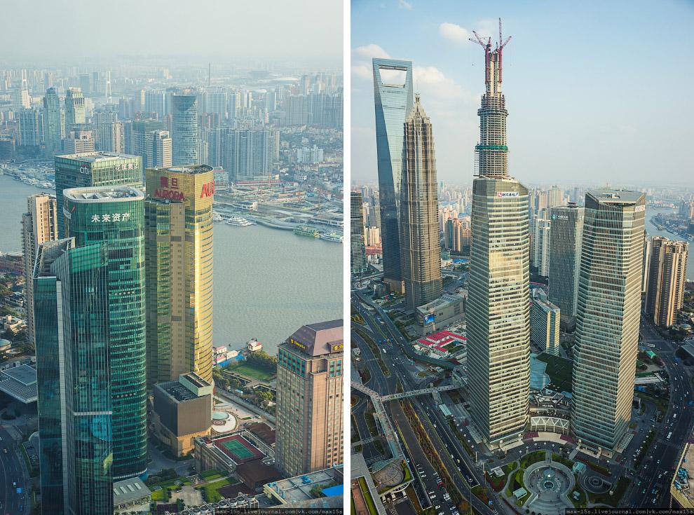 Шанхай с высоты