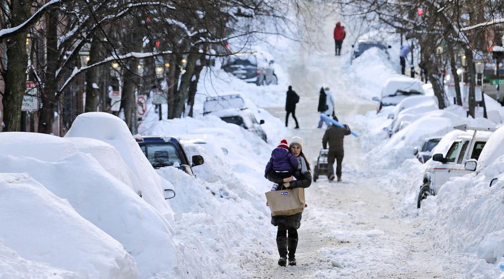 Улицы Бостона
