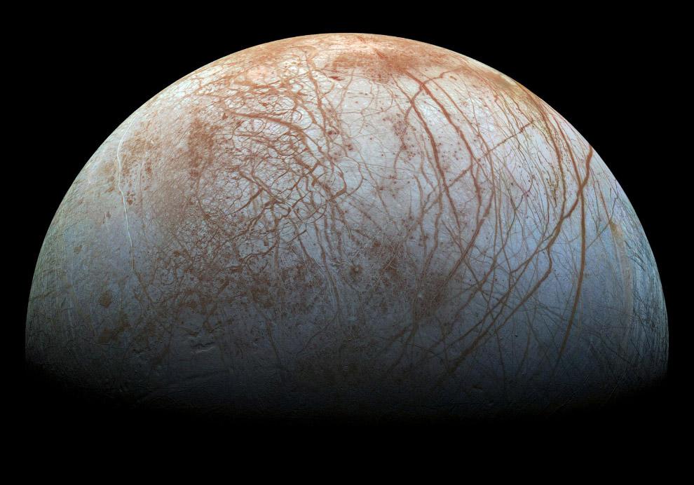Europa - a sexta lua de Júpiter