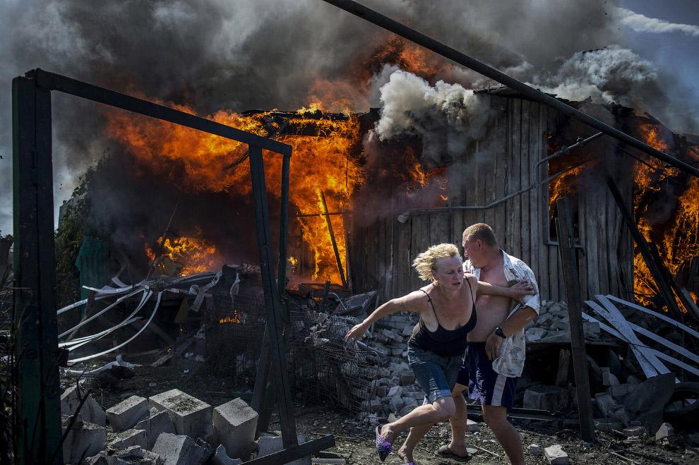 Лето в Луганске, Украина