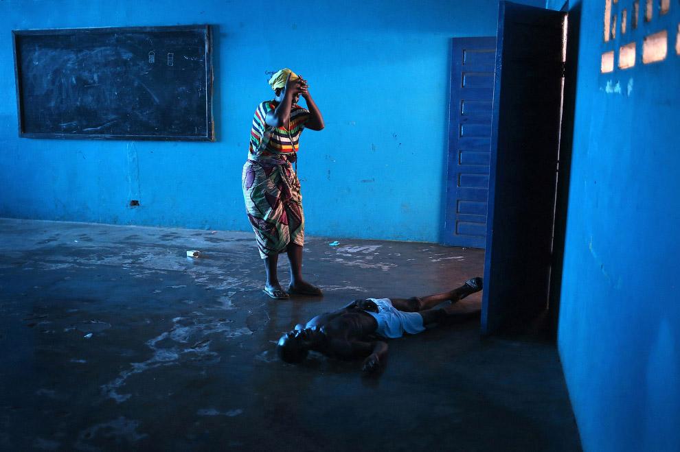 К вопросу о вирусе Эбола. Монровия, Либерия