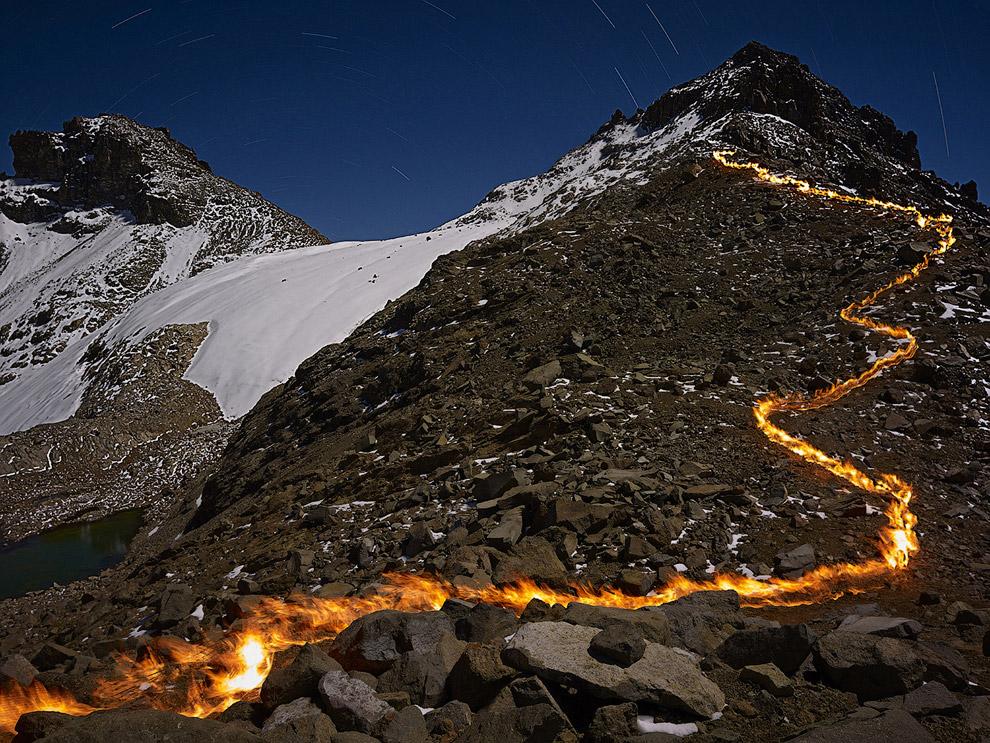 Гора Кения, вторая по высоте гора в Африке