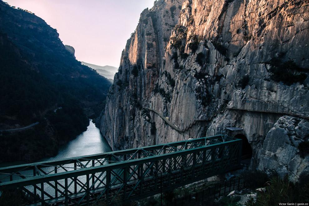 Caminito del Rey — одна из самых опасных троп в миреCaminito del Rey — одна из самых опасных троп в мире