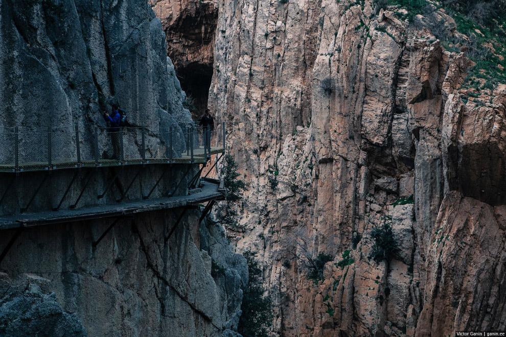 Caminito del Rey — одна из самых опасных троп в мире