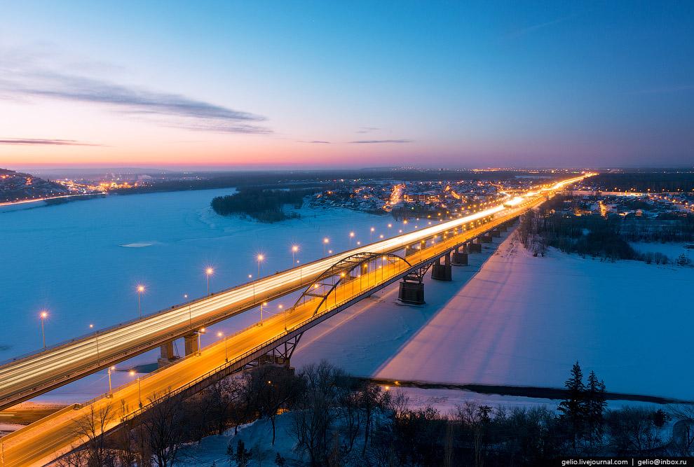 Автодорожные мосты через р. Белая на Оренбургской переправе