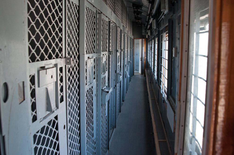 Вагон для перевозки заключенных
