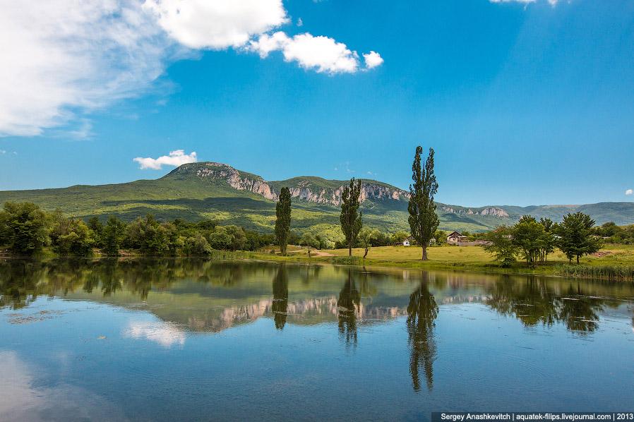 Начало лета в Бельбекской долине