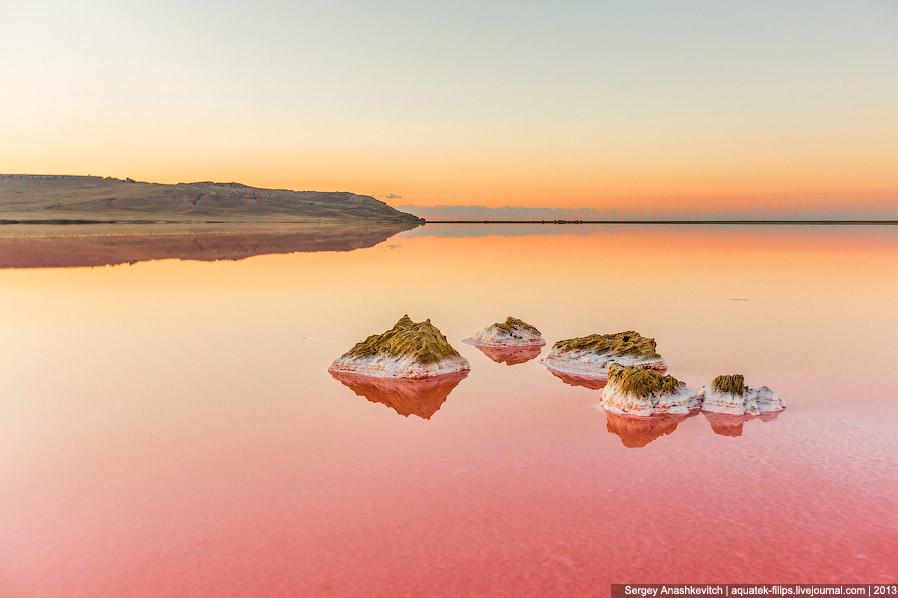 Феномен красного Кояшского озера
