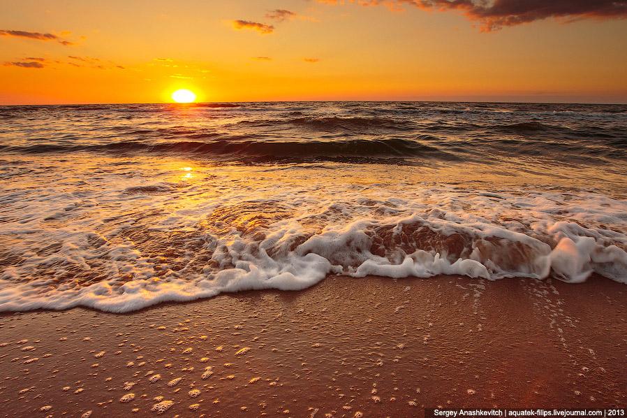 Генеральские пляжи и Азовское море