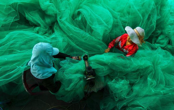 Пошив рыболовной сети, Вьетнам