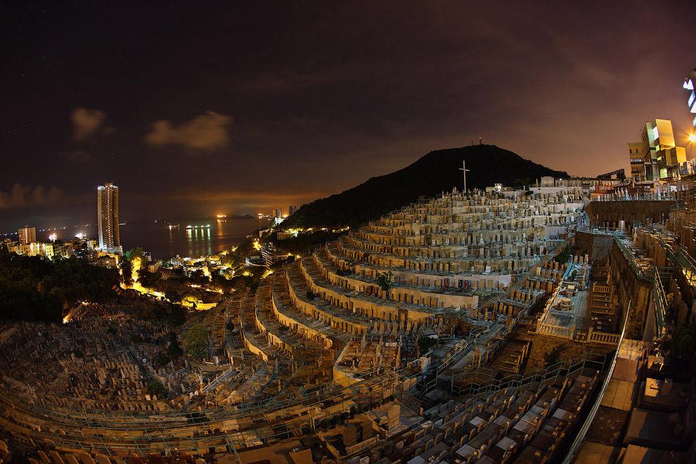 Христианское кладбище в Гонконге