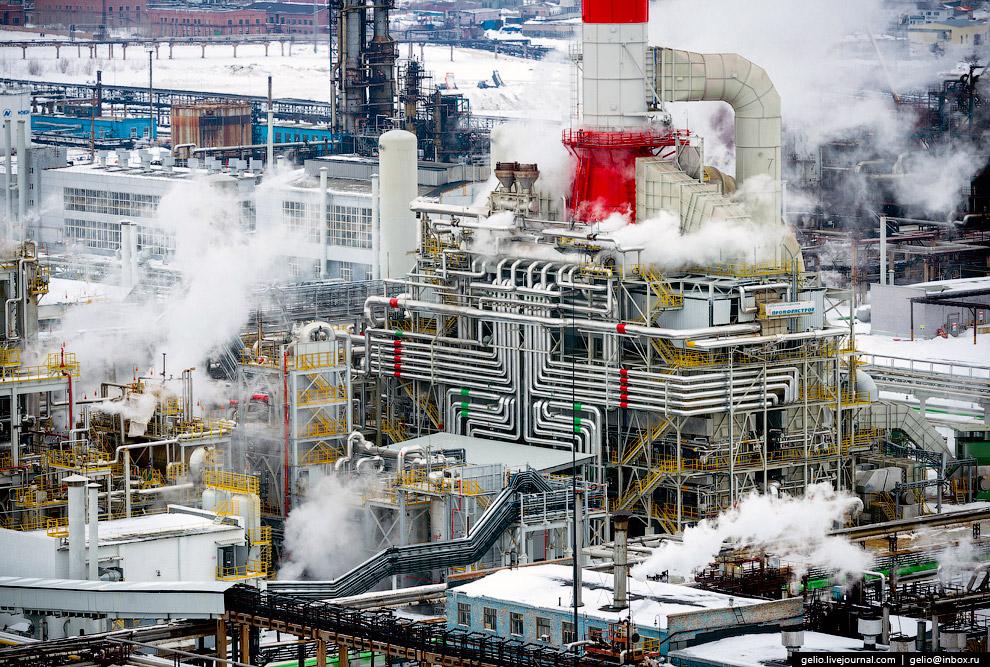 Производственная площадка «Башнефть-Новойл»