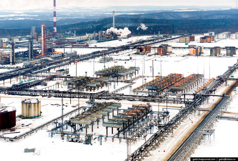 Производственная площадка «Башнефть-Уфанефтехим»