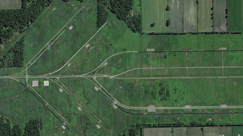 Ж/д пути в районе вокзала Сен-Лазар, Квебек