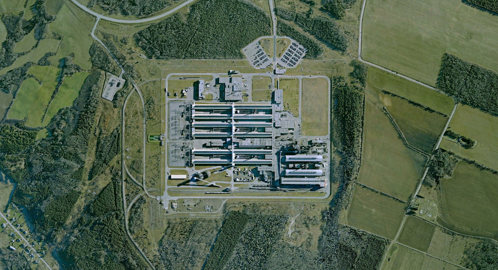 Завод по производству алюминия