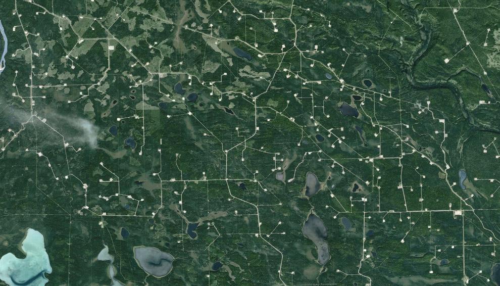 Геологоразведочные работы вблизи Эдсона, Альберта
