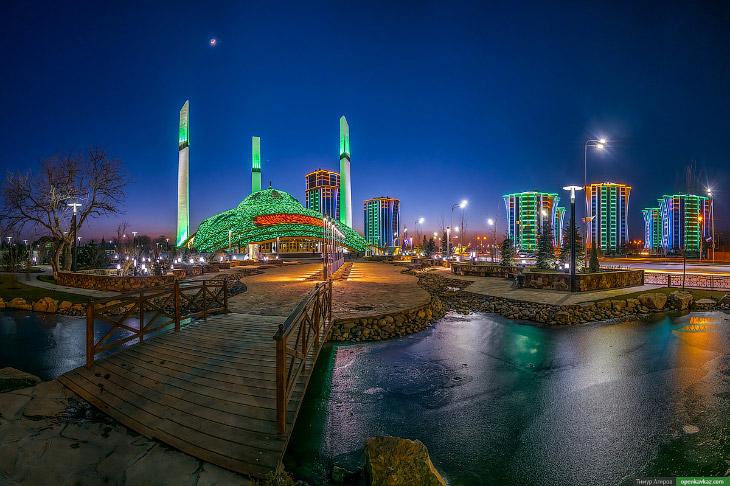 Зимняя Чечня