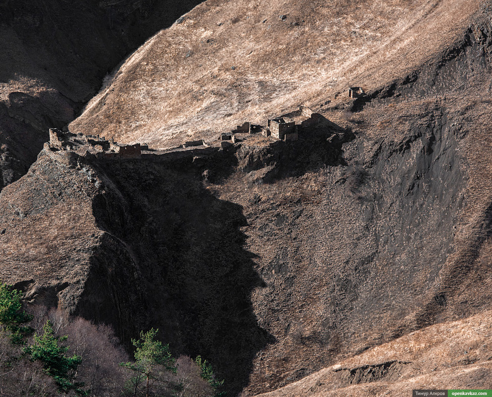 Развалины аула Бурты.