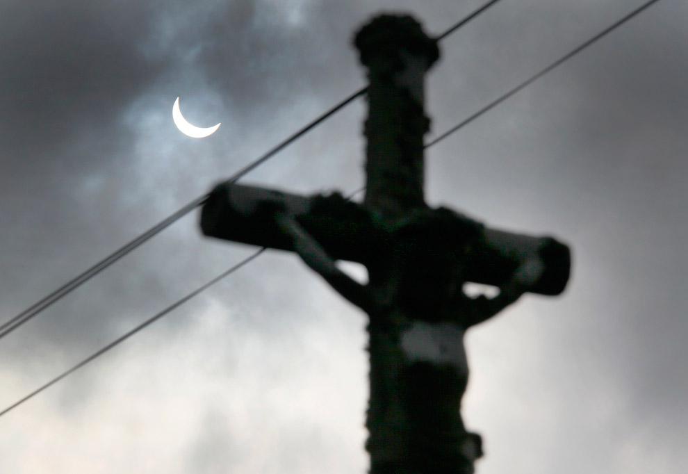 Солнечное затмение 2015 во Франции