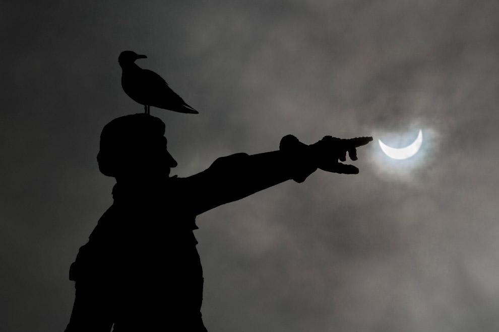 Солнечное затмение 2015 в Португалии