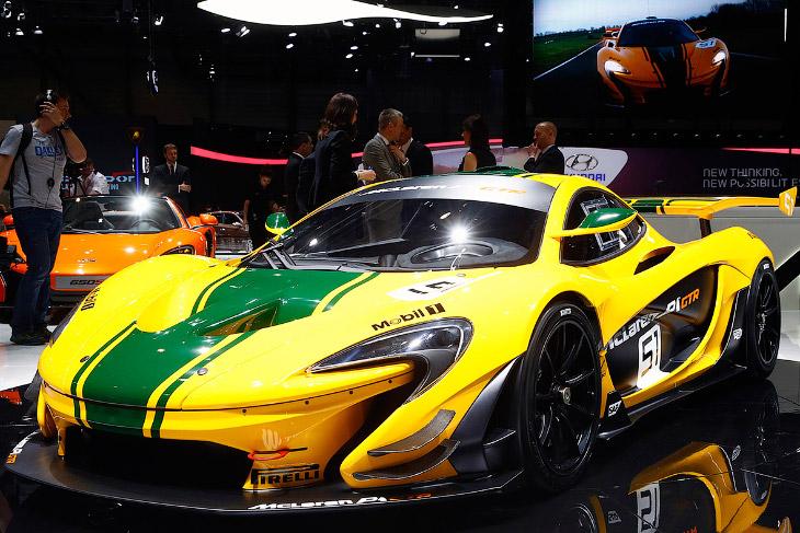 Серийная версия трекового суперкара McLaren P1 GTR